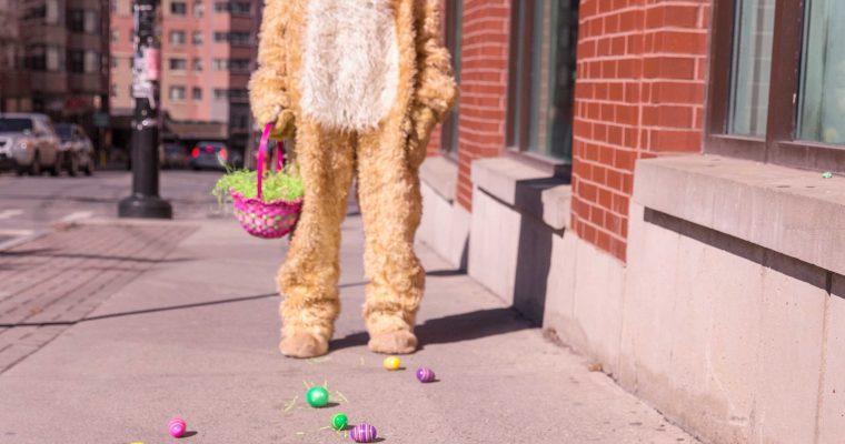 Waarom verstopt de paashaas eieren? (en niet een paaskip?)