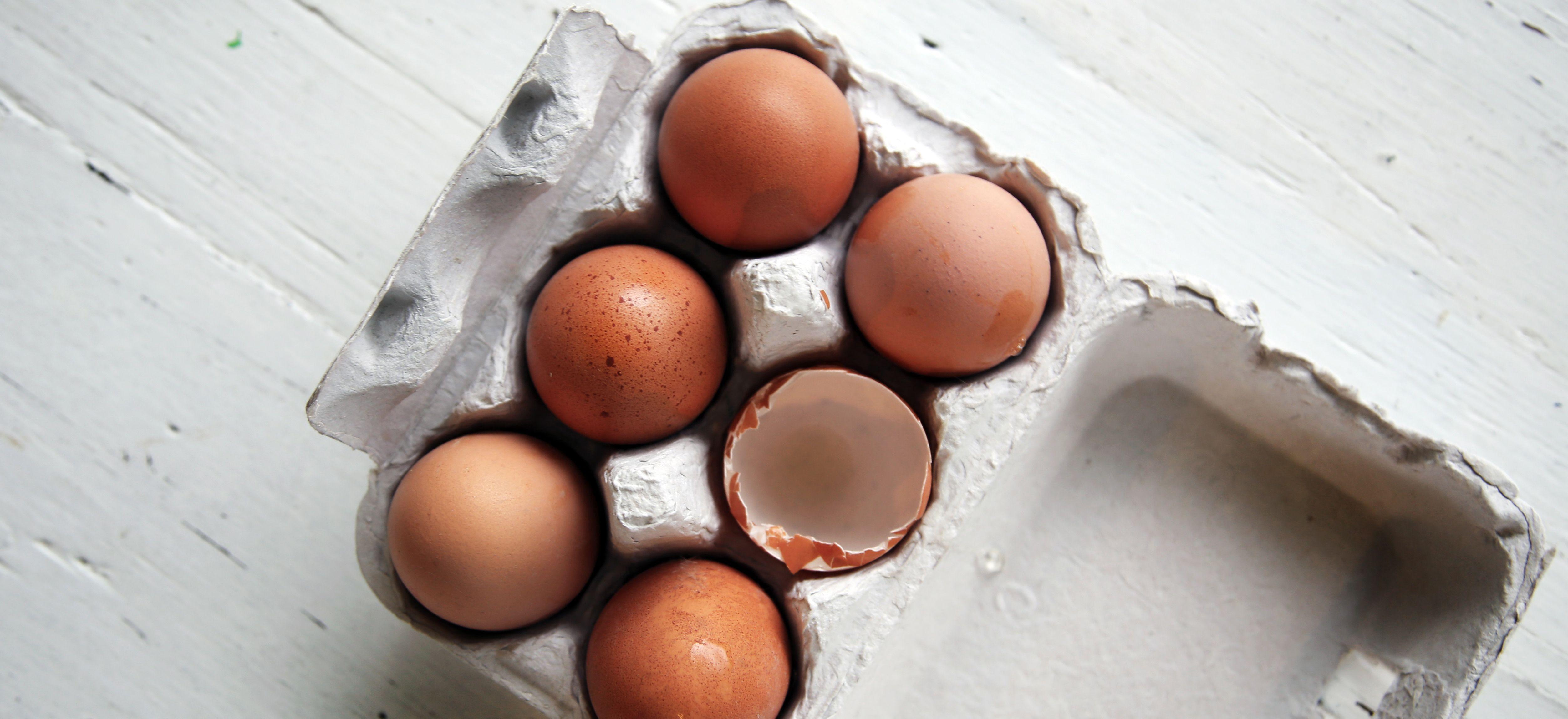 Kun je rauwe eieren invriezen?