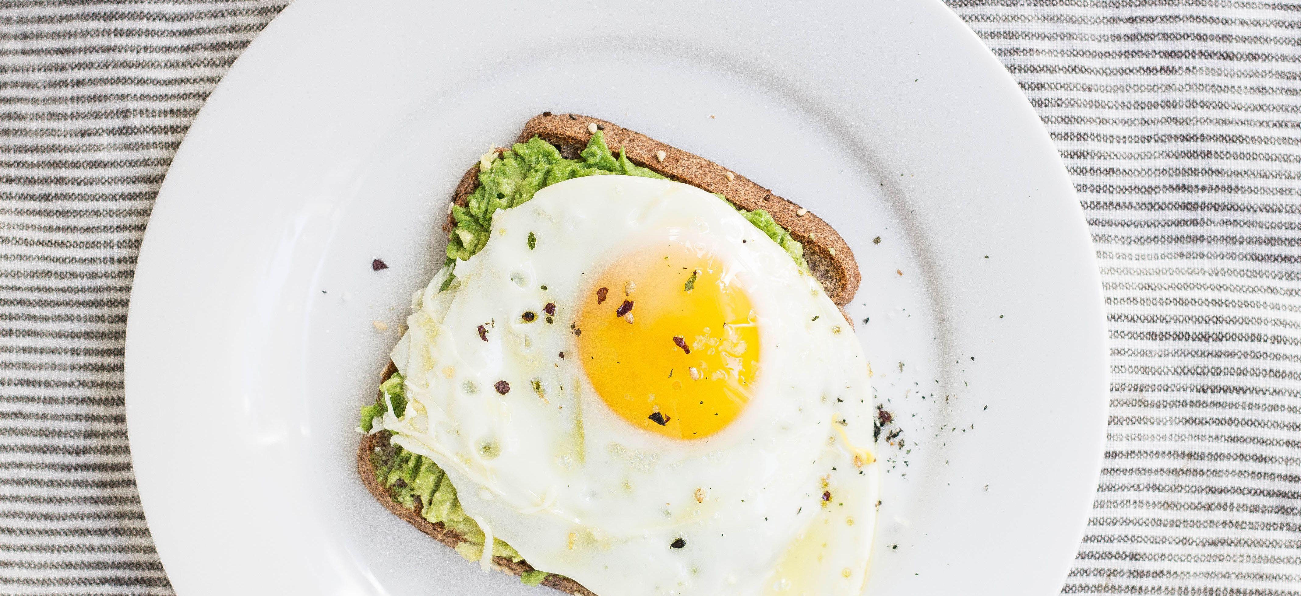De voedingswaarde van een gebakken ei