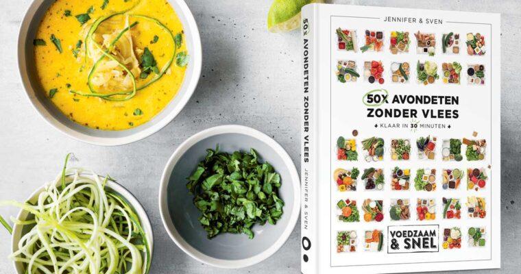 Vegetarische gerechten met smaak: 50x avondeten zonder vlees