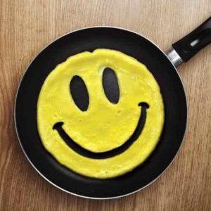 Omeletvorm Smiley