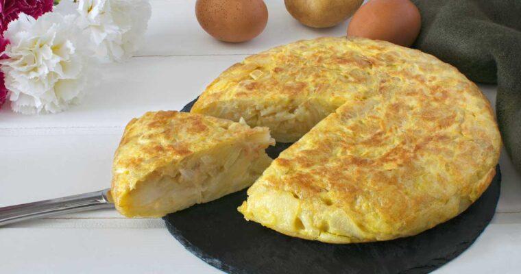 Spaanse aardappeltortilla (tortilla Española)