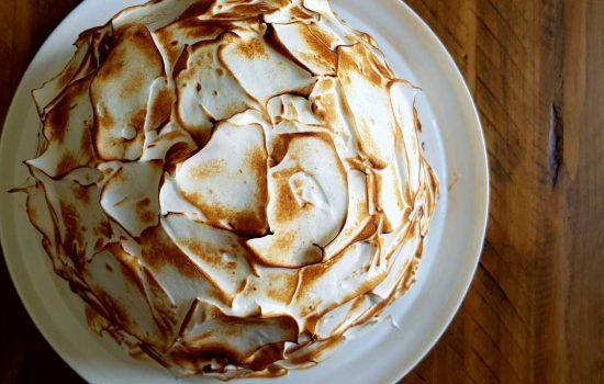 Baked Alaska (omelette sibérienne)