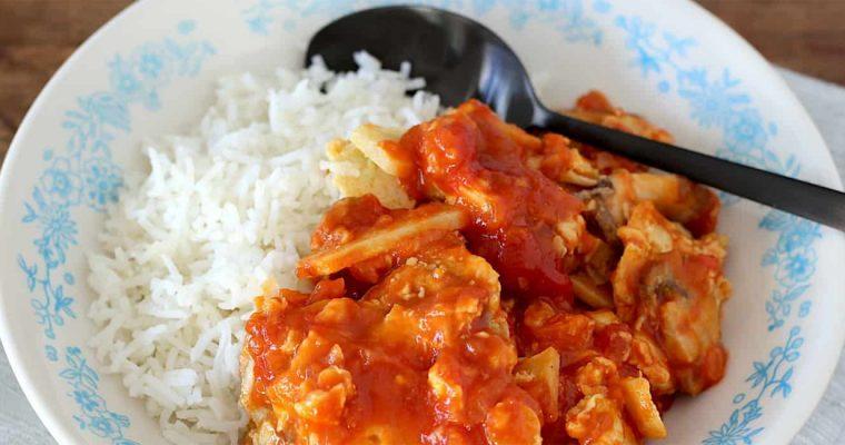 Foe yong hai met extra veel groenten van Francesca Kookt