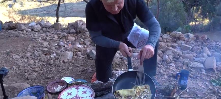 Gordon Ramsay's omelet met paddenstoelen uit Marokko