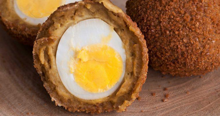 Groninger eierballen met kippendij-ragout