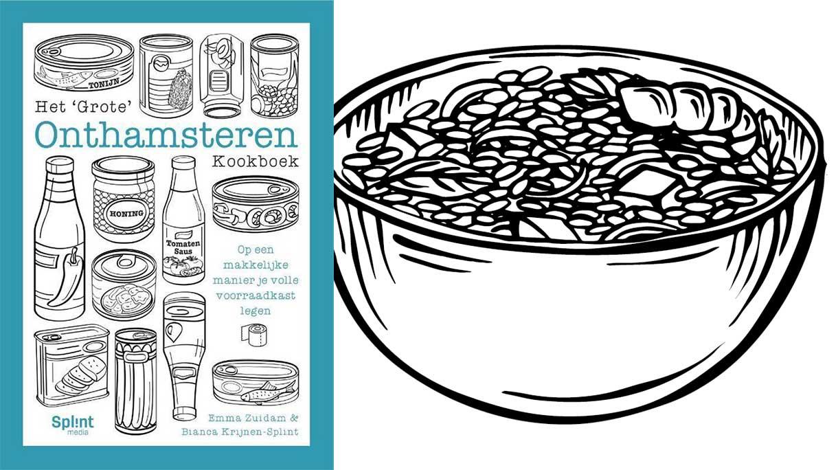 Het Grote Onthamsteren Kookboek: makkelijk je volle voorraadkast legen