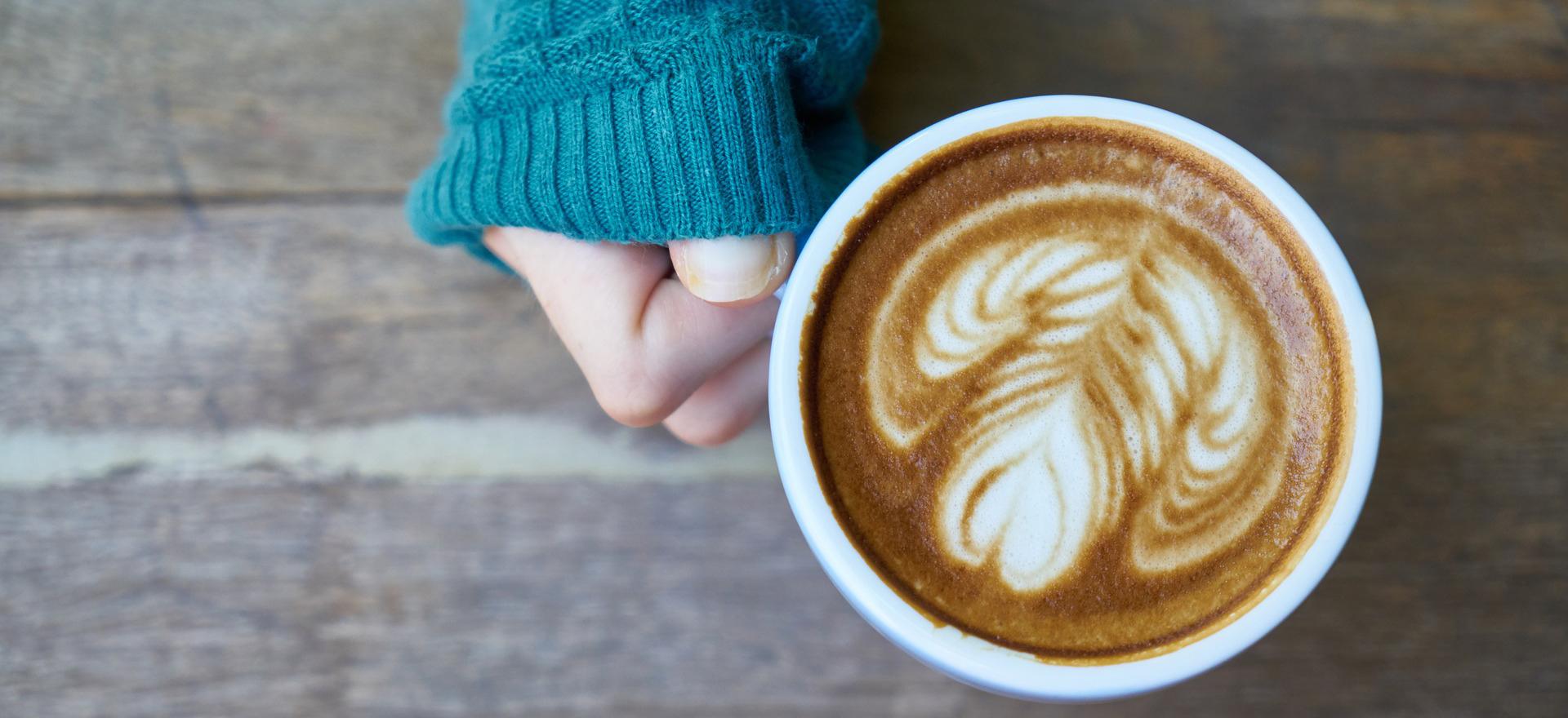 Scandinavische egg coffee