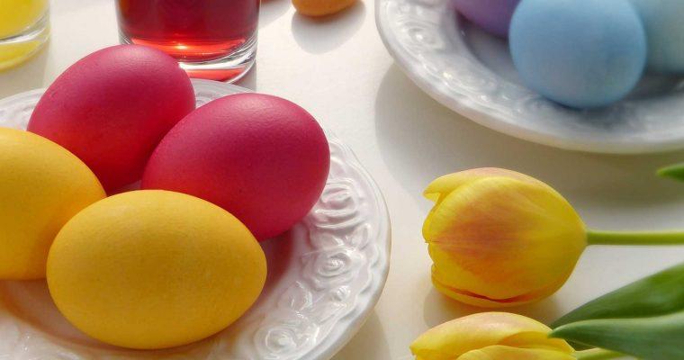 Kun je geverfde eieren veilig eten?