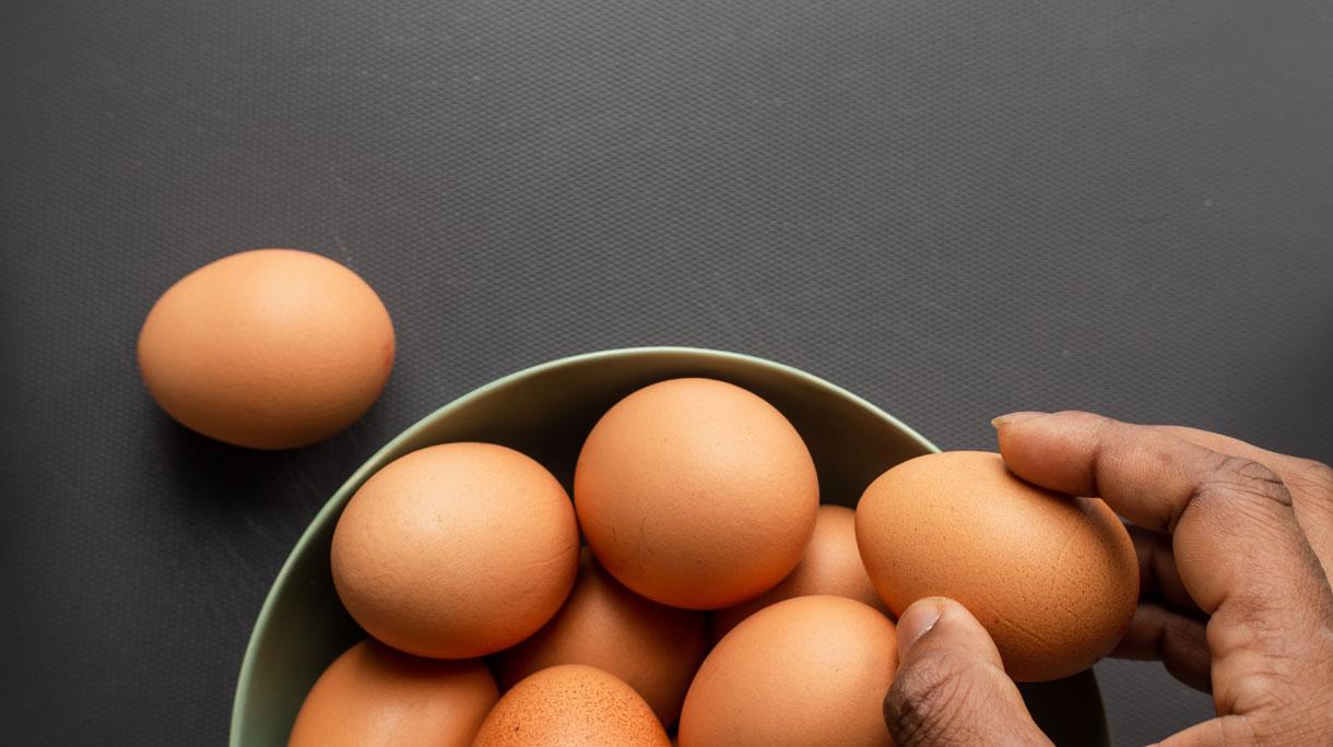 'Ei onder Nederlanders populairste vleesvervanger'