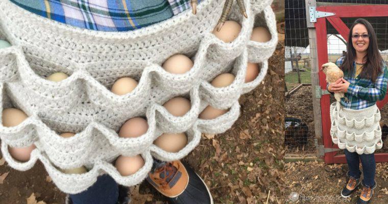 Gratis haakpatroon voor eierschort
