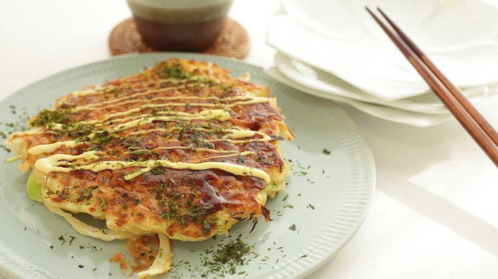 okonomiyaki Japanse pannenkoek