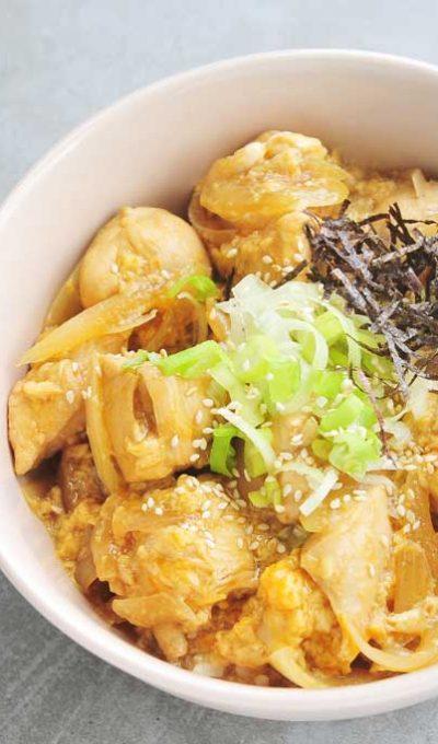 Oyakodon: een kom vol umami (in minder dan 30 minuten)