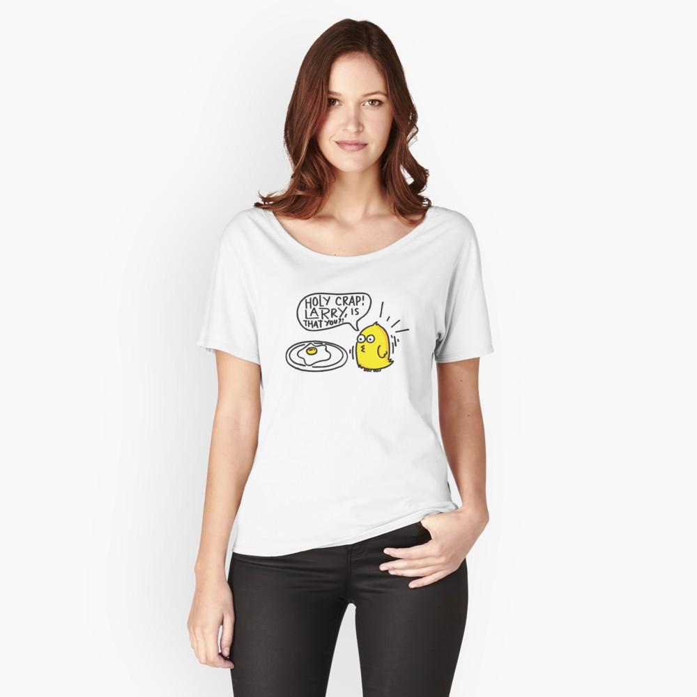 shirt met eierprint
