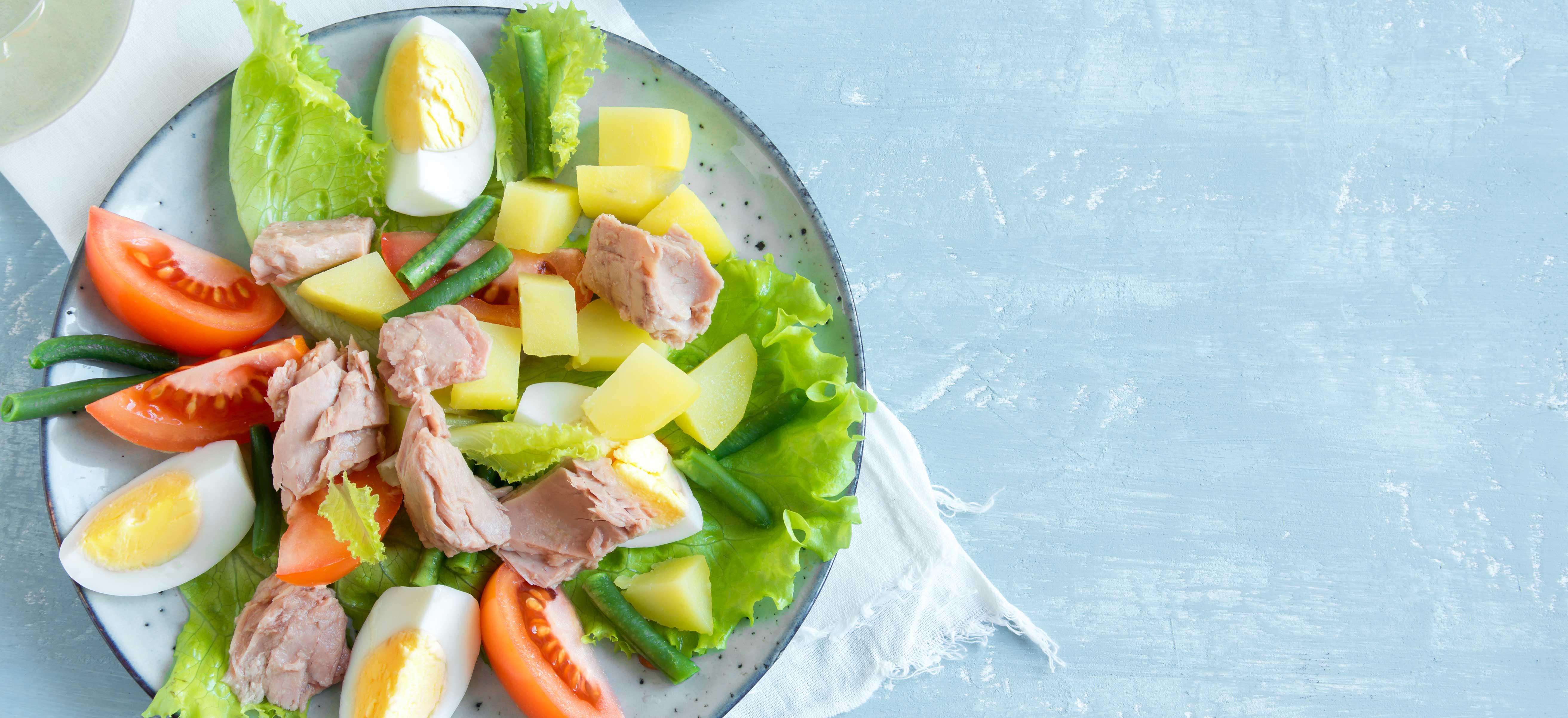 Snelle salade niçoise