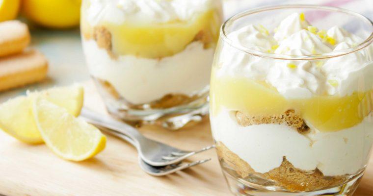 Citroen-tiramisu: dessert met een frisse bite