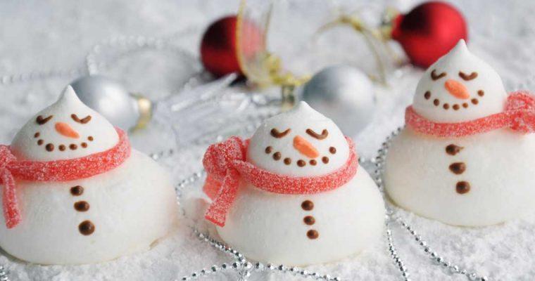 Pavlova sneeuwpopjes