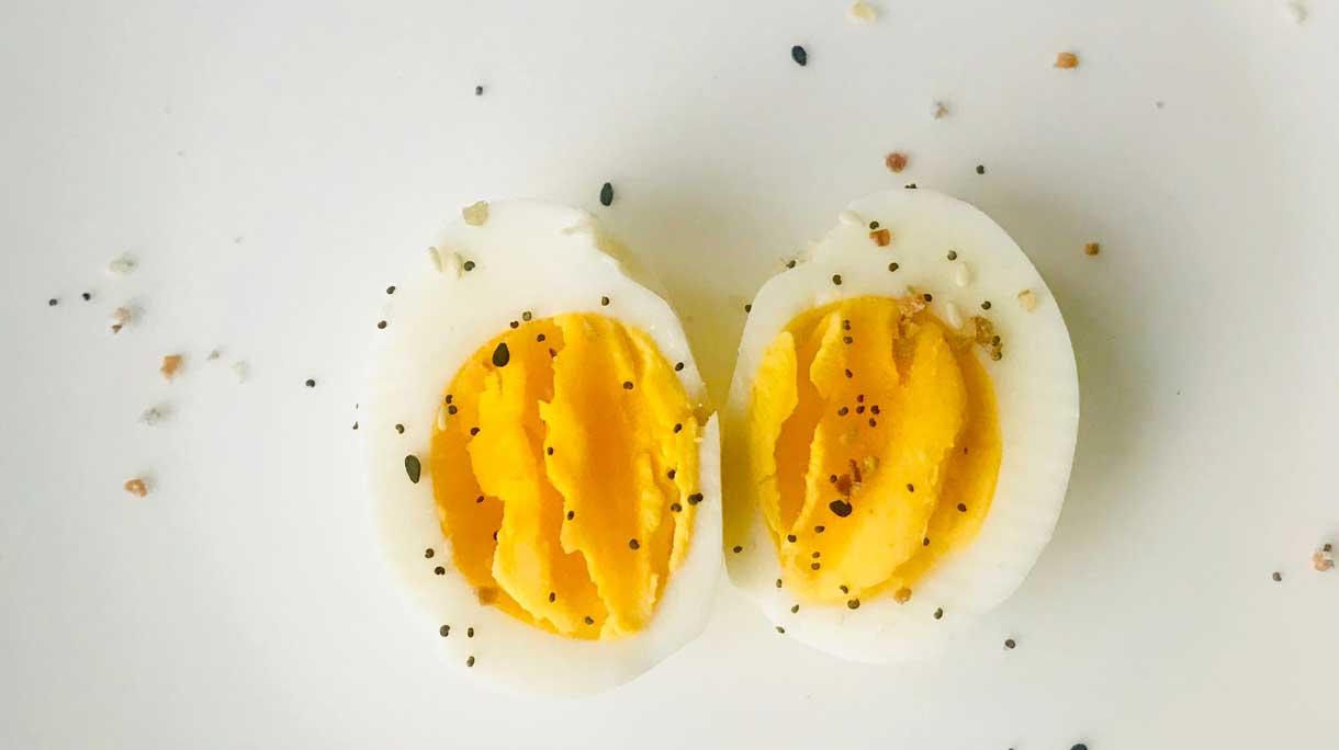 Calculator voor het perfecte gekookte ei