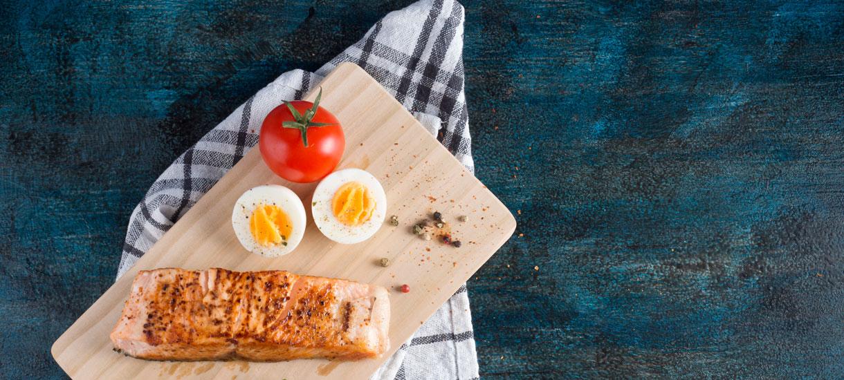 'Verruilen rood vlees voor vis en eieren verlengt leven'